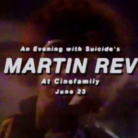 "Join us on June 23rd for an evening with Martin Rev, one half of the legendary proto-punk band and synth duo Suicide - arguably the first band to call themselves ""punk"" and one of the most seminal bands of the 80s – whose influence is felt more than ever today! He'll share rare clips, photos, fliers, and maybe even a classic drum machine. Followed by a screening of Go Nightclubbing's SUICIDE LIVE!"