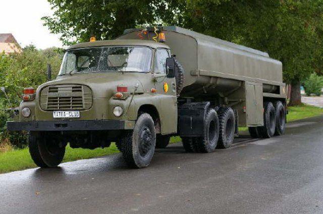East German Air Force Tatra 148NTt fuel bowser