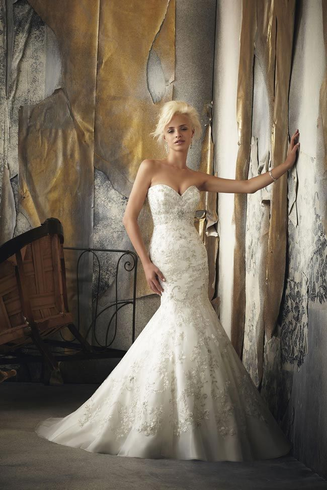 Hot new wedding dresses from Mori Lee