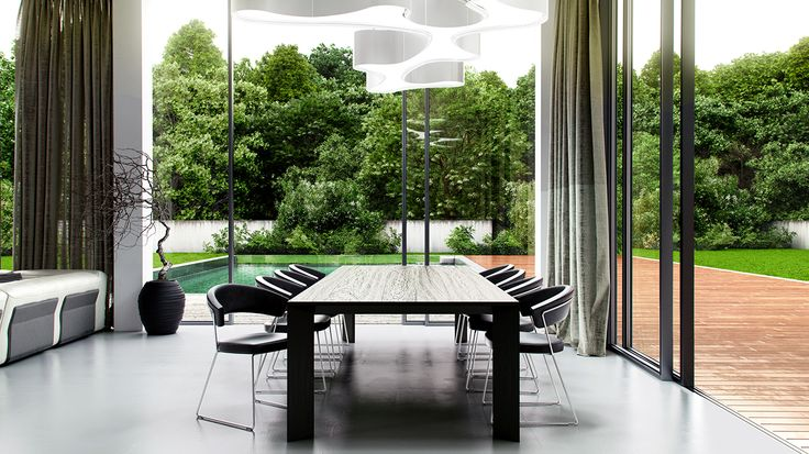 Minimalistyczna rezydencja   Berlin   architektura i architektura wnętrz   troomono