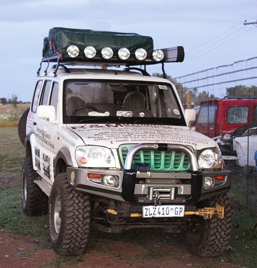 Now THIS is what I need for camping trips :) Any kind sponsors out there...  #mahindrascorpio
