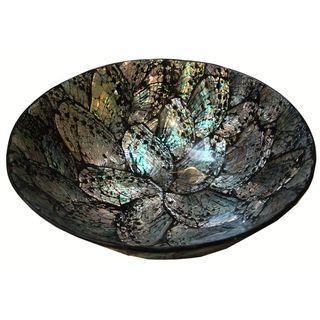 Pressed Paua Shell Bowl #Chairish