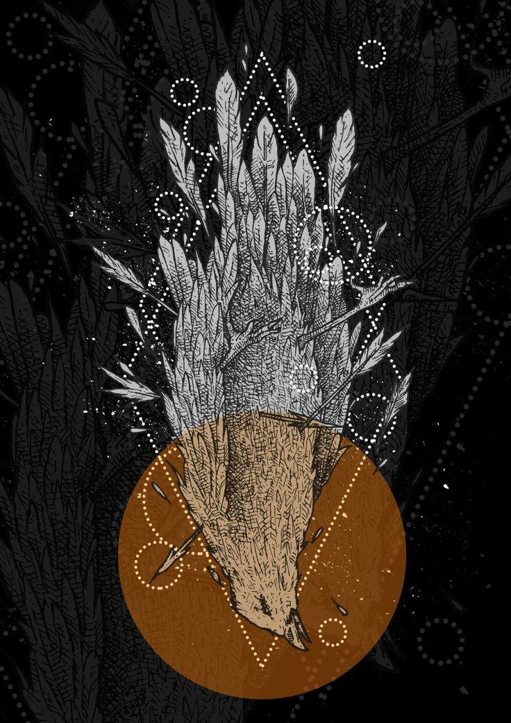 Lihat diam dan dengar atau anda mati Artwork illustration