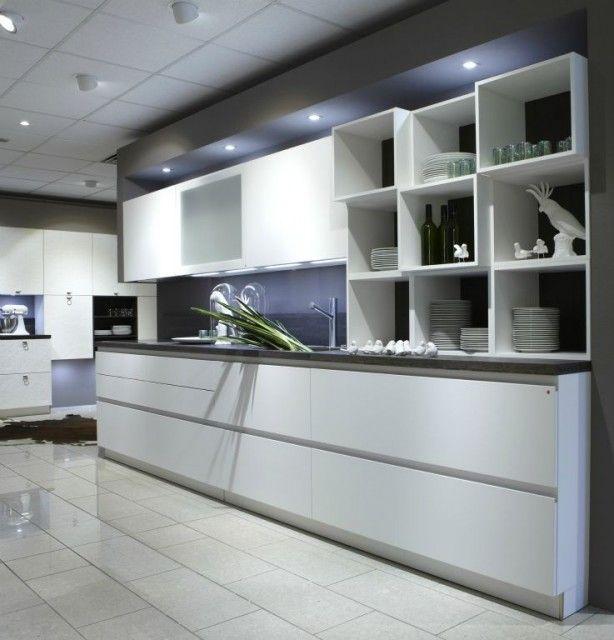 ... over Keuken op Pinterest  Kasten, Moderne keukens en Zwarte keukens