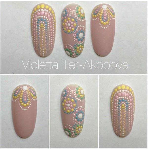 Une série de dessins faciles à réaliser avec un Dotting Tool . Tout les nails art sont réaliser par la talentueuse Violetta Ter-Akopova UNE SERIE DE DESSINS FACILES ET SIMPLES À RÉALISER, POUR DES…