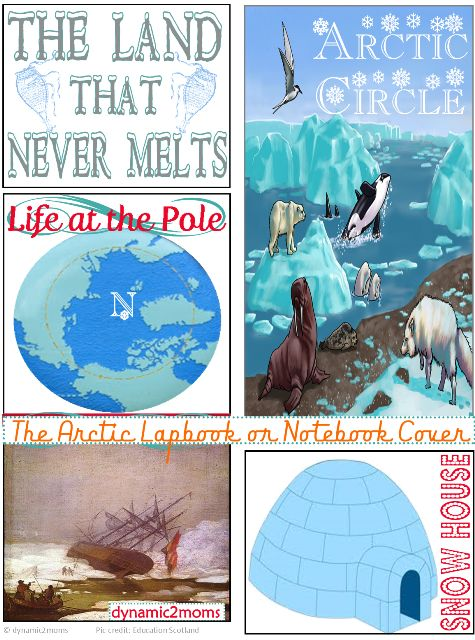 The Inuit & Arctic Wrap up + Free Lapbook Cover Pages