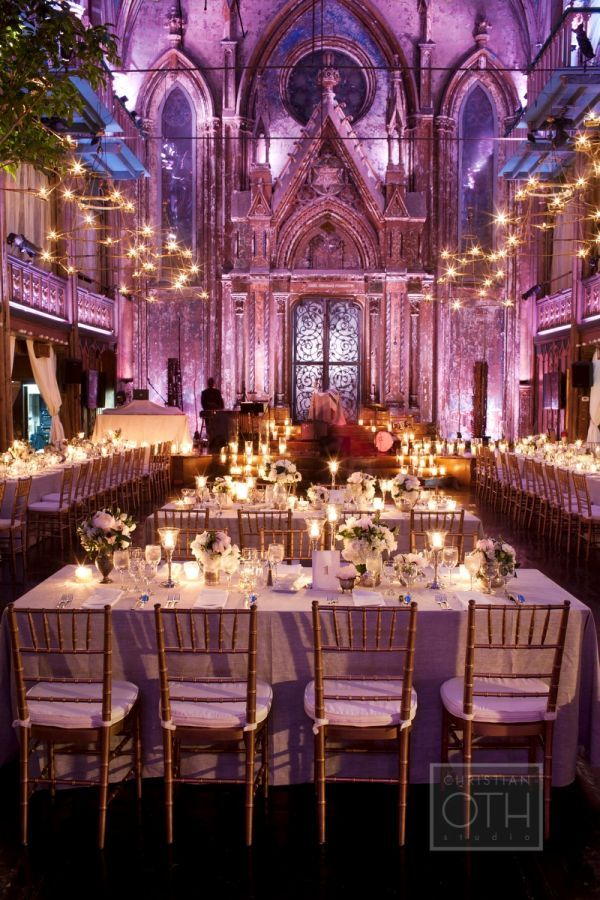 What a breathtaking, glowing reception! Love the white color palette.