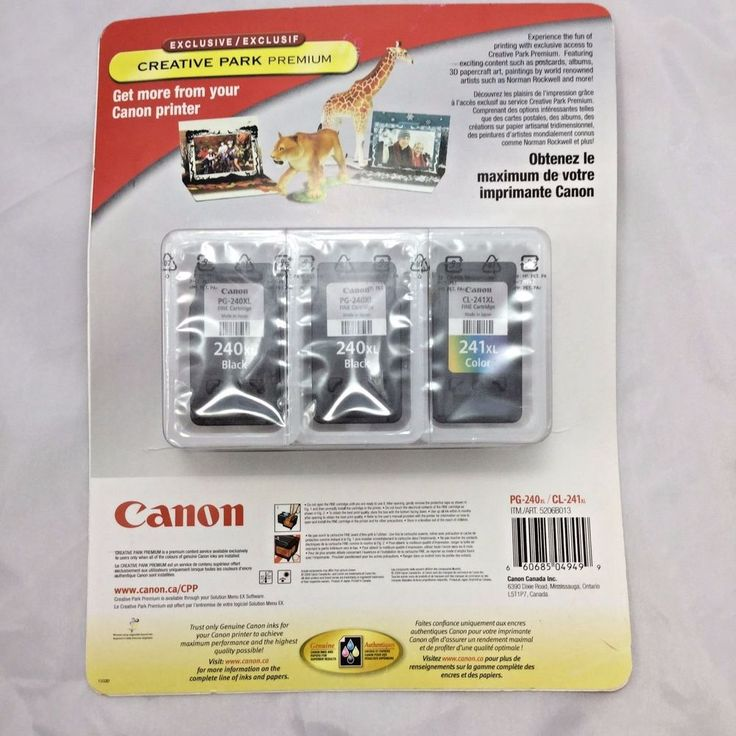 3 Pack Canon PG-240XL CL-241XL Printer Ink Cartridges for PIXMA Models Lot of 2 #Canon