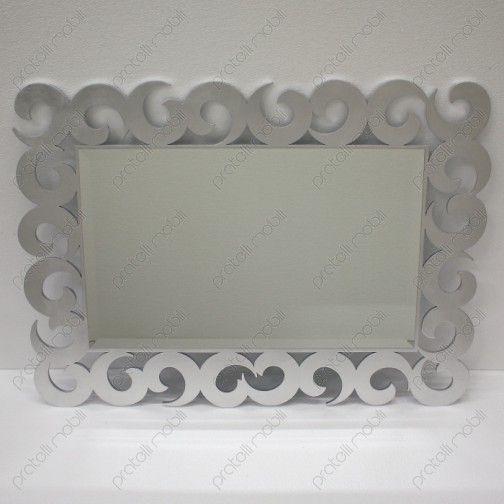 Specchiera Barocca Moderna Ricciolo #mirrors #frames #home #decoring