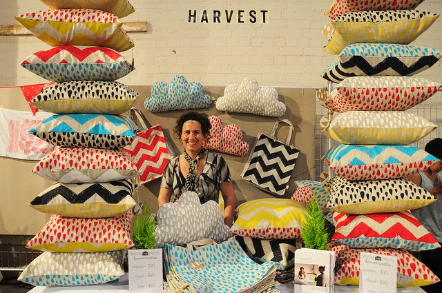 [ HARVEST TEXTILES ] - East Brunswick, Melbourne. Harvest Textiles is a team of four women who share a passion for quality handmade textiles, the joy of learning, community and sustainability.