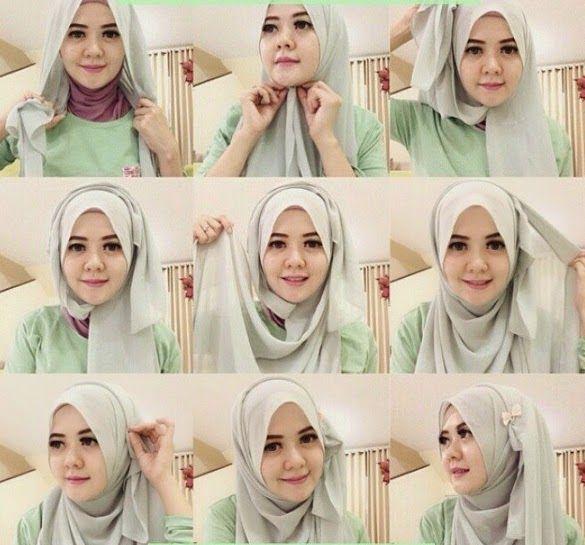My Sweet Escape: Beautiful & Stunning Simple Hijab Tutorial