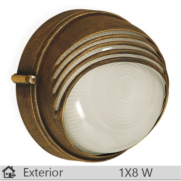 Aplica iluminat decorativ exterior Klausen, gama Parma, model Bronz http://www.etbm.ro/