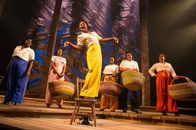 Review - The Color Purple Revival on Broadway: Cynthia Erivo and the cast of…