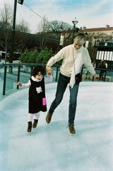 Outdoor Ice Skating in Washington, DC.