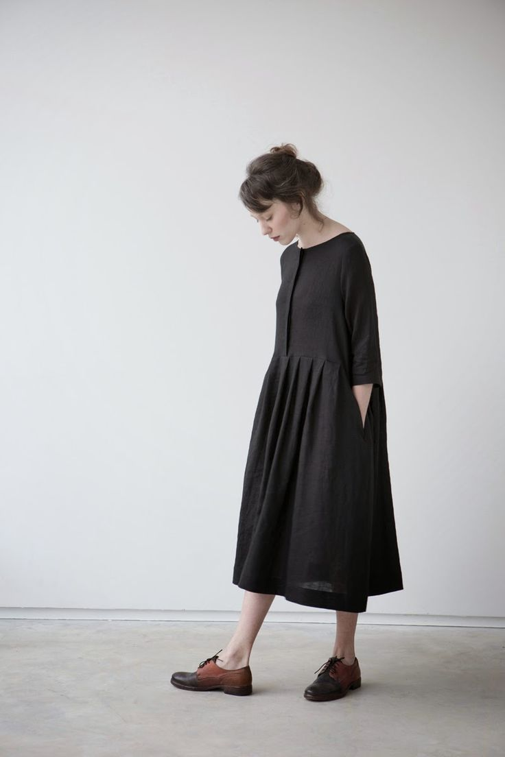 muku: muku Ladies SS14 Love it. In a lovely wool fabric with Dr Martens and a knitted scarf!