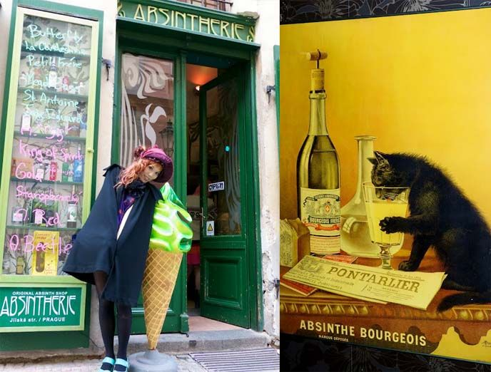 Absinthe ice cream and Goth travels in Prague. More photos on La ...