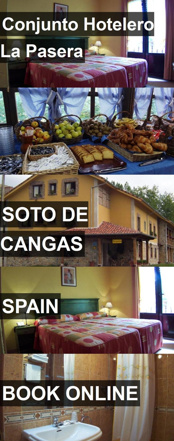 Conjunto Hotelero La Pasera in Soto de Cangas, Spain. For more information, photos, reviews and best prices please follow the link. #Spain #SotodeCangas #travel #vacation #hotel