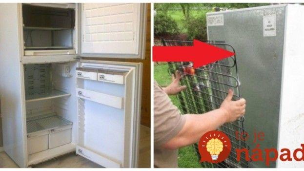 Po rokoch im doslúžila chladnička: Namiesto toho, aby ju vyhodili, prišli s geniálnym nápadom – teraz ich teší viac, ako keď fungovala!