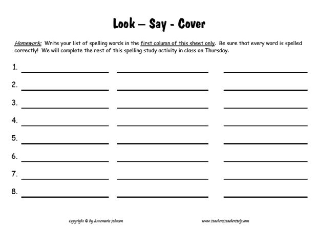 look cover write check free printable google ��� esl