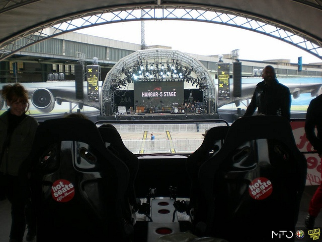 Berlin Festival 2012: first view from the Alfa Romeo hot seats!