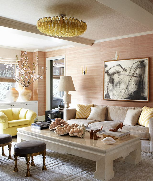 Cameron Diaz's home, designed by Kelly Wearstler, featured on Domaine Home
