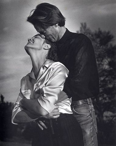 Sam Shepard and Jessica Lange by Bruce Weber