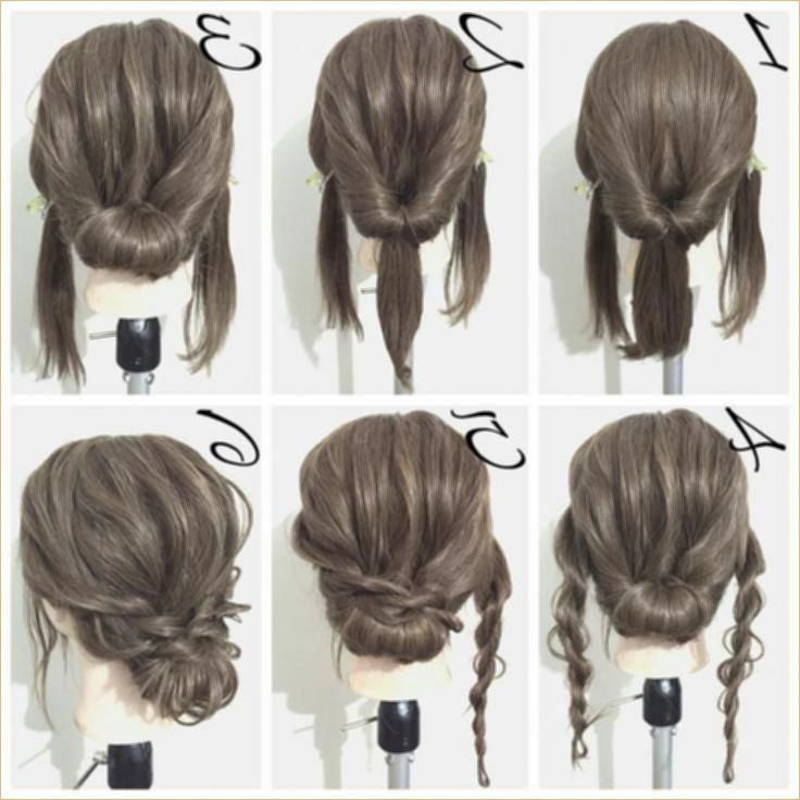 Easy Updos For Medium Hair Awesome Easy Hairdos For Medium Hair New Hairstyle Ideas Easyhairstyles Braided Hairstyles For Wedding Hair Styles Hair Lengths