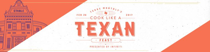Texas Monthly and Infiniti invite you on a culinary road trip through the pages of Texas Monthly all in one special evening showcasing a roster of acclaimed Texas talent.