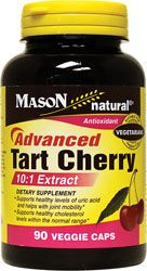 Mason Natural Advanced Tart Cherry Extract 10:1 90 Veg Caps - Swanson Health Products