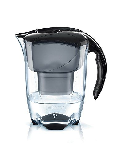 From 15.24 Brita Elemaris Cool Water Filter Jug And Cartridge Black