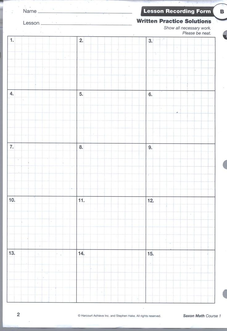 Printables Saxon Math 4th Grade Worksheets 1000 images about math on pinterest saxon grid pg1