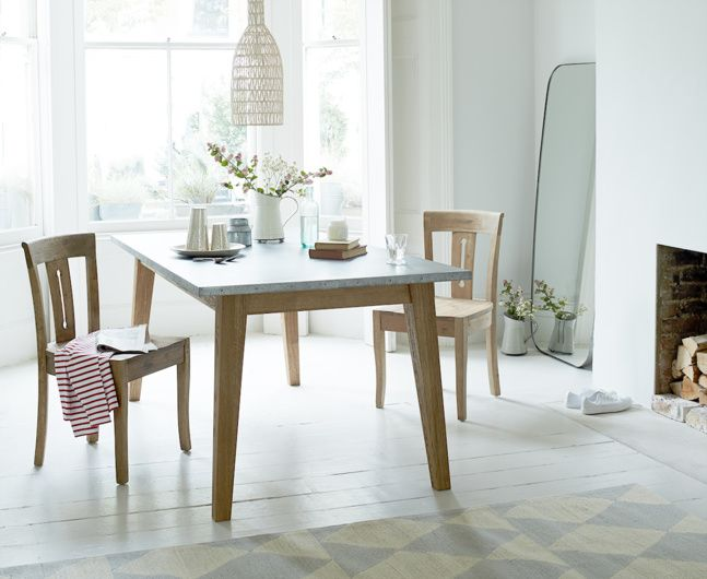 Best Zinc Tabletop Images On Pinterest Tabletop Dining - Zinc dining room table