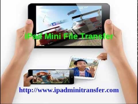 iPad Mini File Transfer to create backup file of iPad mini