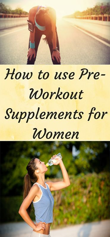Learn How Women Can Get The Best Results Using A Pre-Workout Supplement