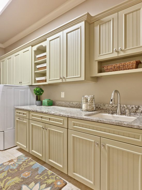 Laundry Room Craftsman Style Design: Bathroom Design, Cabinets Colors, Beads Boards, Laundry Rooms Design, Teri Turan, Cabinets Design, Photo, Kitchens Cabinets, Cabinets Doors