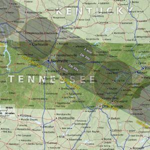 Eclipse Maps | Total Solar Eclipse 2017