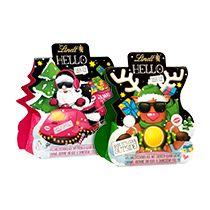 X-Mas Gifts Minis #christmas #chocolate #santaclaus