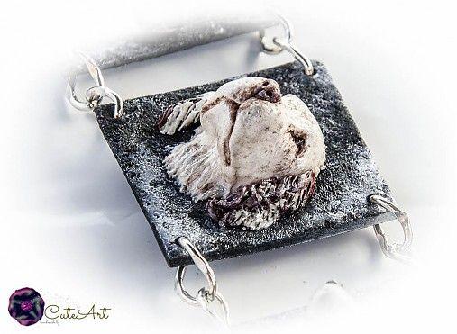Náramok AG 925 s 3 rôznymi hlavičkami by CuteArt - SAShE.sk - Handmade Náramky  Bracelet with 3 dogs heads...made according to their photo...Sterling Silver