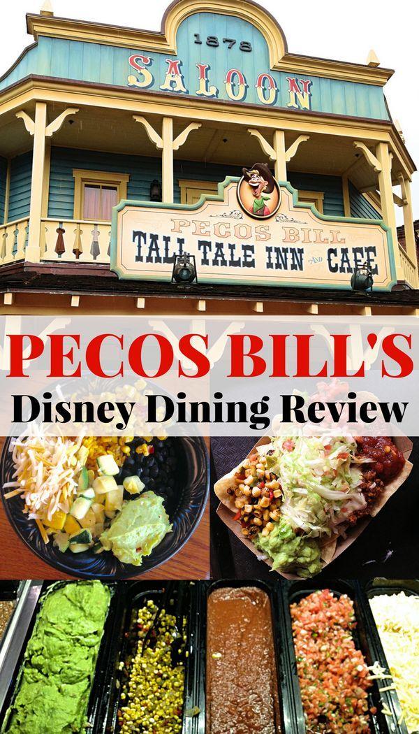 Best Restaurants On Disney World Vacation Dining Review Pecos Bill Tall Tale Inn Cafe The B Disney Dining Tips Disney World Food Dining At Disney World
