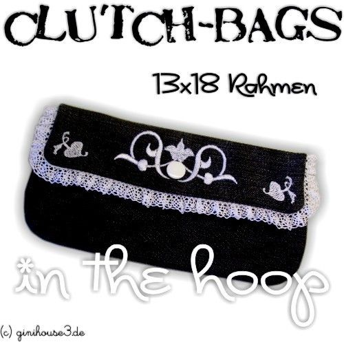 Clutch-Bags IN THE HOOP Stickdateien 13x18 - ginihouse3