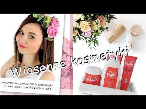 Wiosenne kosmetyki #beglossy by Alicja Czarodziejka #l'biotica #semilac #resibo #lancome - YouTube