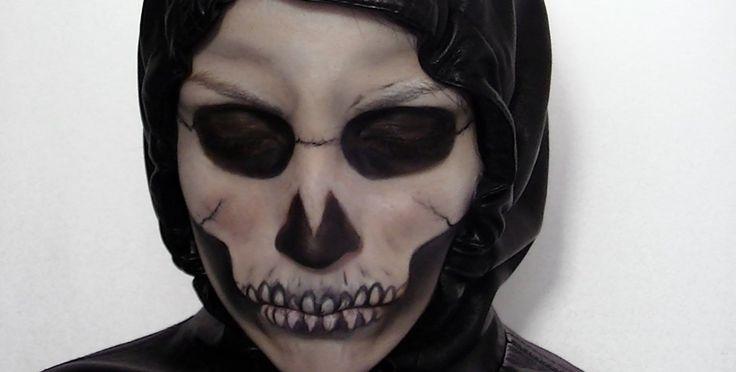 Maquillage halloween homme - http://lookvisage.ru/maquillage-halloween ...