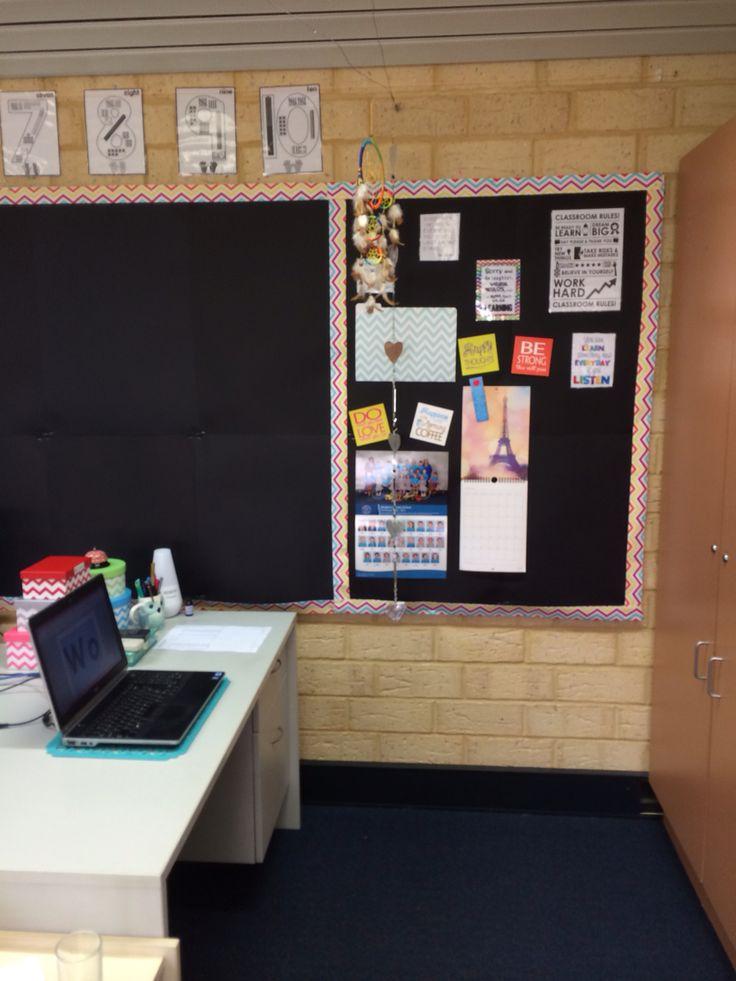 Motivation board next to my desk.