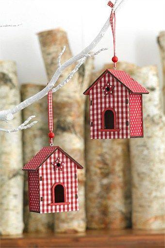 Christmas - Birdhouse Decorations - EziBuy Australia