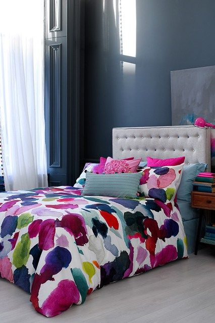 Airforce Pink - Bedroom Design Ideas & Pictures – Decorating Ideas (houseandgarden.co.uk)