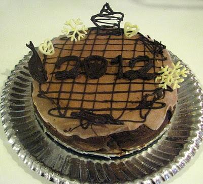 Frozen Chocolate Cake - Çikolatalı Dondurulmuş Pasta - Torta Gelata