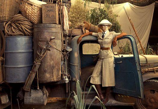 Nicole Kidman in Australia, Annie Leibovitz