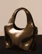 Clay and glaze.: Ceramics Handbags