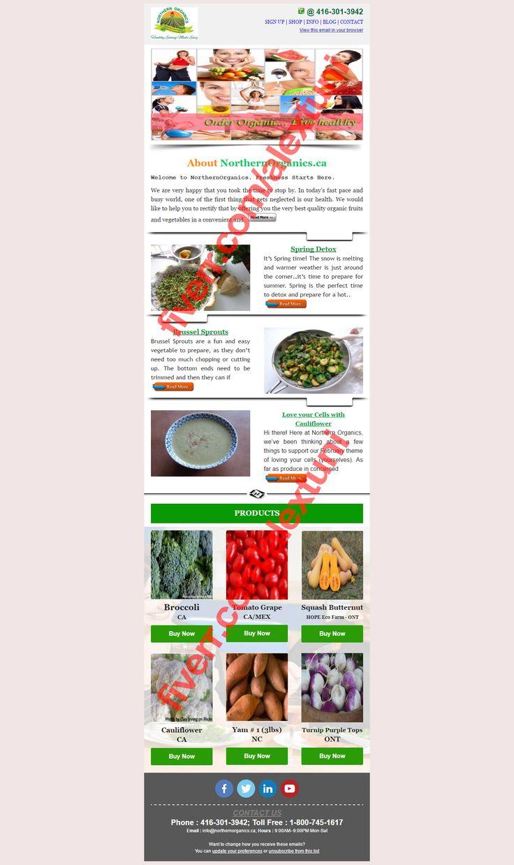 20 besten MAILCHIMP Email Newsletter Design Bilder auf Pinterest ...