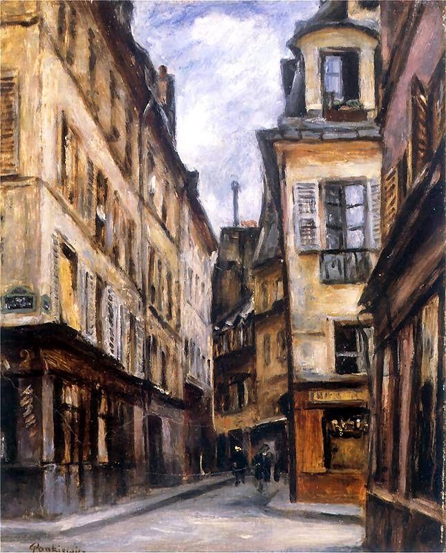Rue Cardinale w Paryżu.